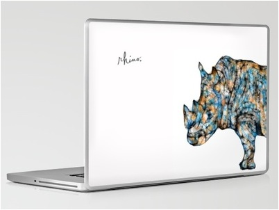 rhino macbook skin