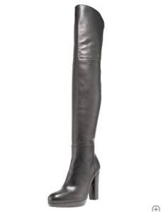 Stuart Weitzman Leather Thigh-High Boot