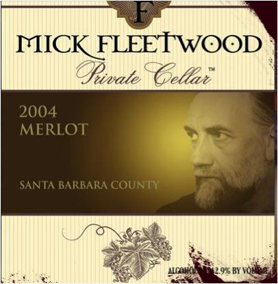Mick Fleetwood Private Cellar Private Cellar 2004 Merlot