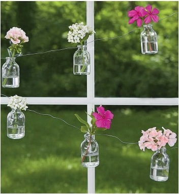Bottle Flower Garland