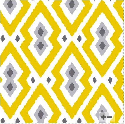 "yellow and grey ""Syrie"" wallpaper"