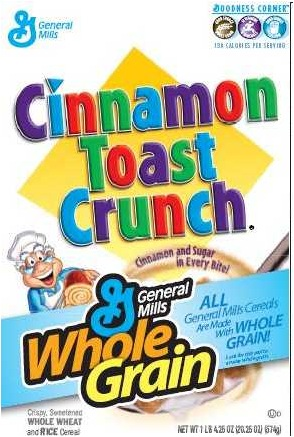 "just because it says ""Whole Grains"" does not make it healthy!)"