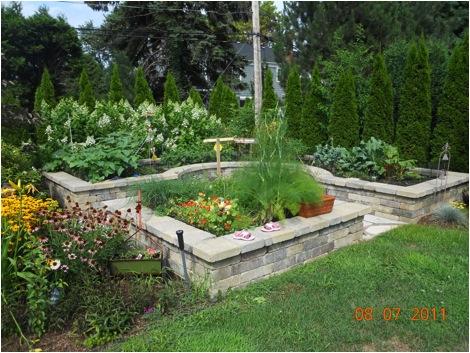 The Rahaim family garden