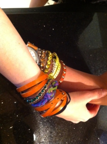 Meredith Rodkey Count Me Healthy bracelets