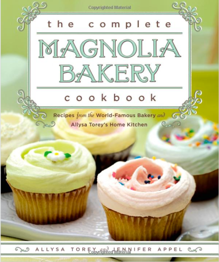 Cover shot of Magnolia Bakery Cookbook