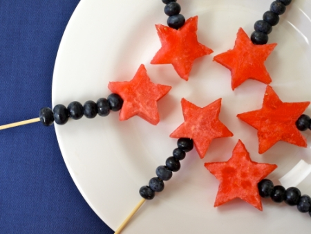 4th of July Wands. So clever!