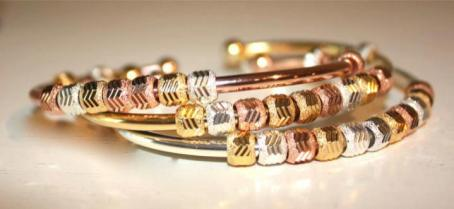 Chelsea Charles Galaxy Tri-Color Bangles