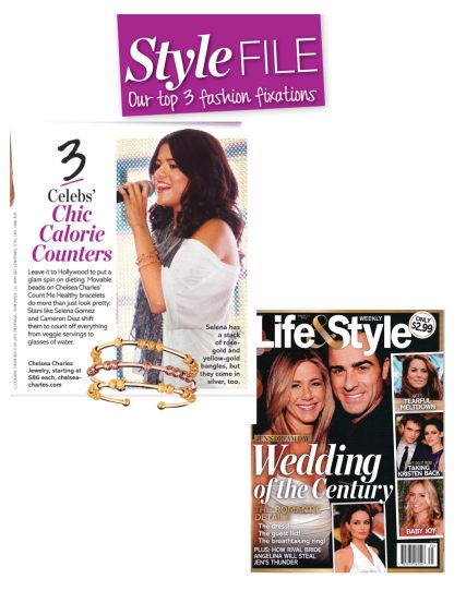 Sexy Stack named a top trend by Style Editor of Life & Style Magazine