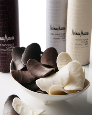 What is more decadent than good dark chocolate and salty, sinful chips?