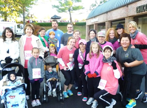 Team April's Action at the Race for the Cure