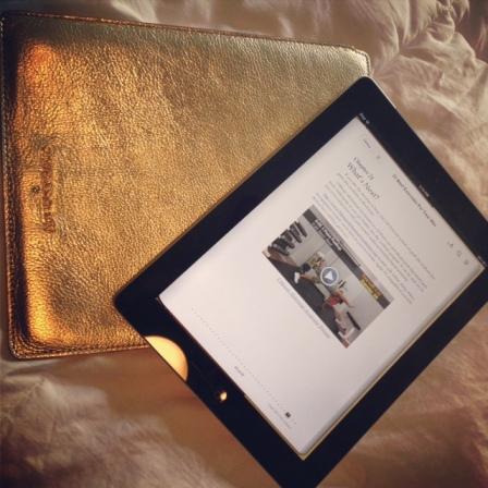 Short ab videos on the iPad are helpful