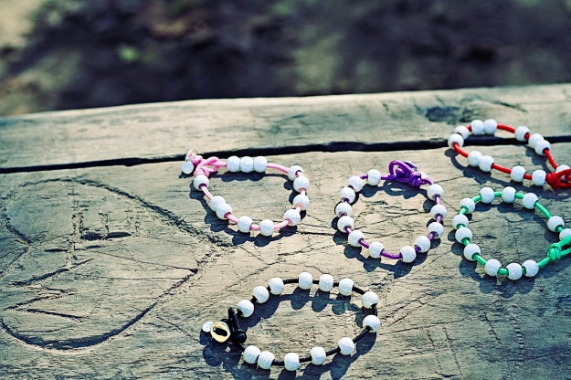 Count Me Healthy Color Bracelets by Chelsea Charles