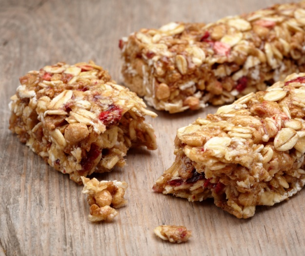 I try to stay away from the fruit-focused energy bars because of sugar content.