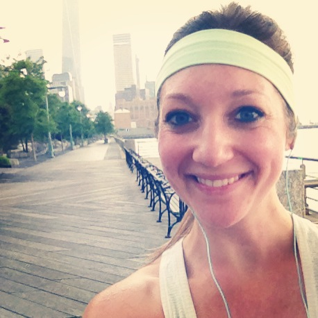 Self-development author, Kimberly Novosel, says to treat each workout as a personal achievement.